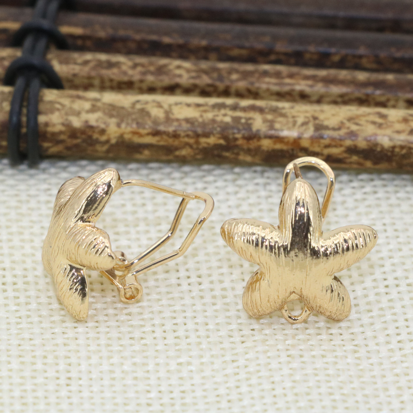 New arrival 10 style ear earrings for women girls weddings party gifts gold-color wholesale price fashion jewelry B2822